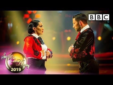 Michelle And Giovanni Paso Doble To 'Another One Bites The Dust' - Week 7 | BBC Strictly 2019