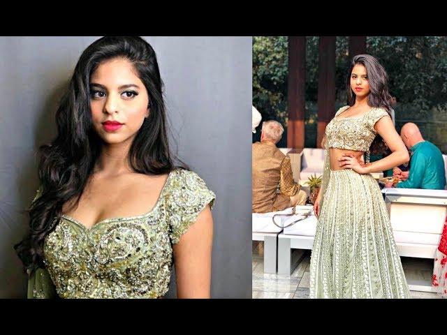 Shahrukh Khan Daughter Suhana Khan Hot At Wedding In Delhi