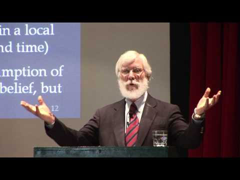 Tom Campbell in Spain: Consciousness The Ultimate Reality 1/13