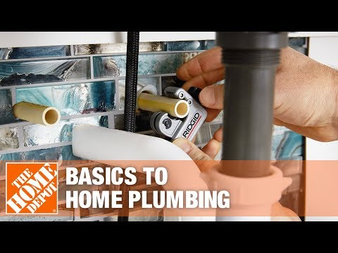 Basics of Your Home's Plumbing | The Home Depot
