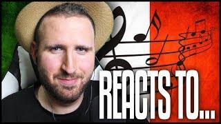 POLAK REAGUJE NA WŁOSKĄ MUZYKĘ / POLISH MAN REACTS TO ITALIAN MUSIC