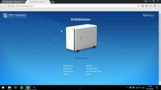 Synology - DiskStation - Konfigurieren