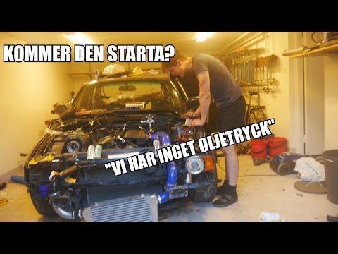 FÖRSTA STARTEN EFTER 1 ÅR!! BMW TURBO