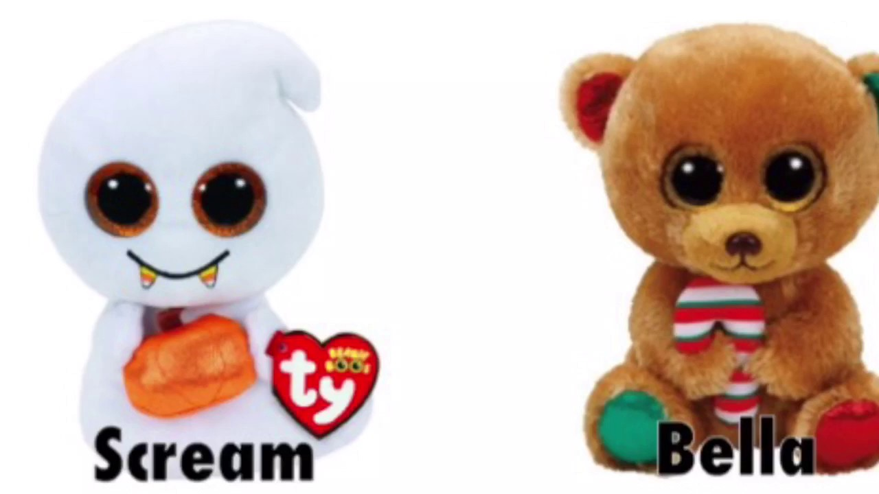 New Beanie Boos & Teeny Tys (TyNews)   Codys Beanie Boos - YouTube