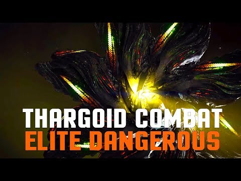 Elite Dangerous - My First Thargoid Combat Encounter and Investigation
