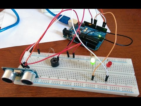 HC-SR04 Ultrasonic Sensor Tutorial with Arduino
