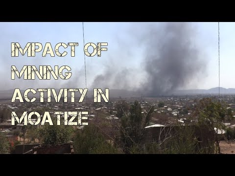 Impact of mining in Moatize, Mozambique