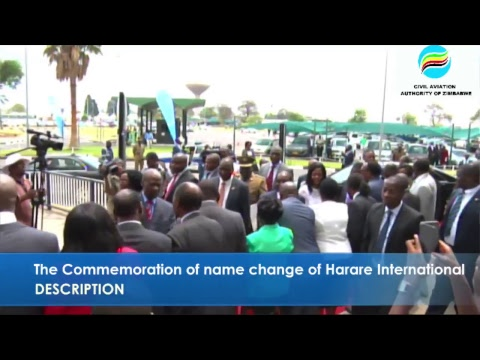 The Commemoration of name change of Harare International