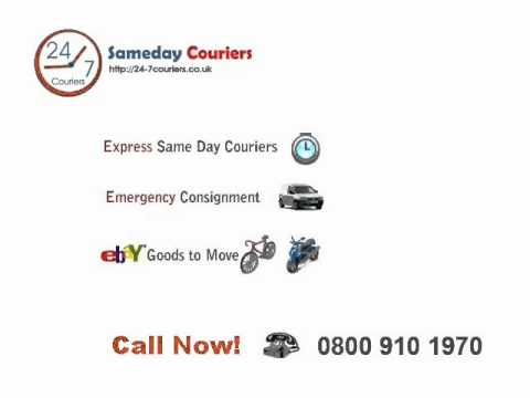sameday courier- Local same day couriers UK