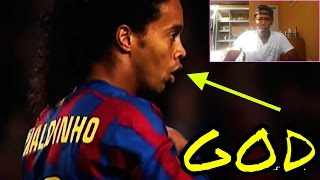 Ronaldinho Gaucho ● Moments Impossible To Forget | REAL REACTION