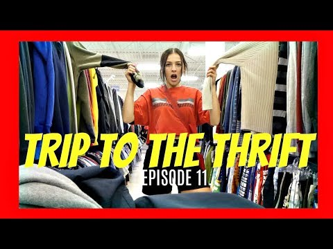 TRIP TO THE THRIFT EP. 11.. I FOUND WHAT??????