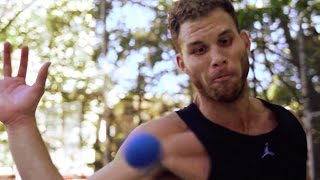 Blake Griffin Cross Trains With Handball Legend Timbo Gonzalez | The Crossover: Part 1