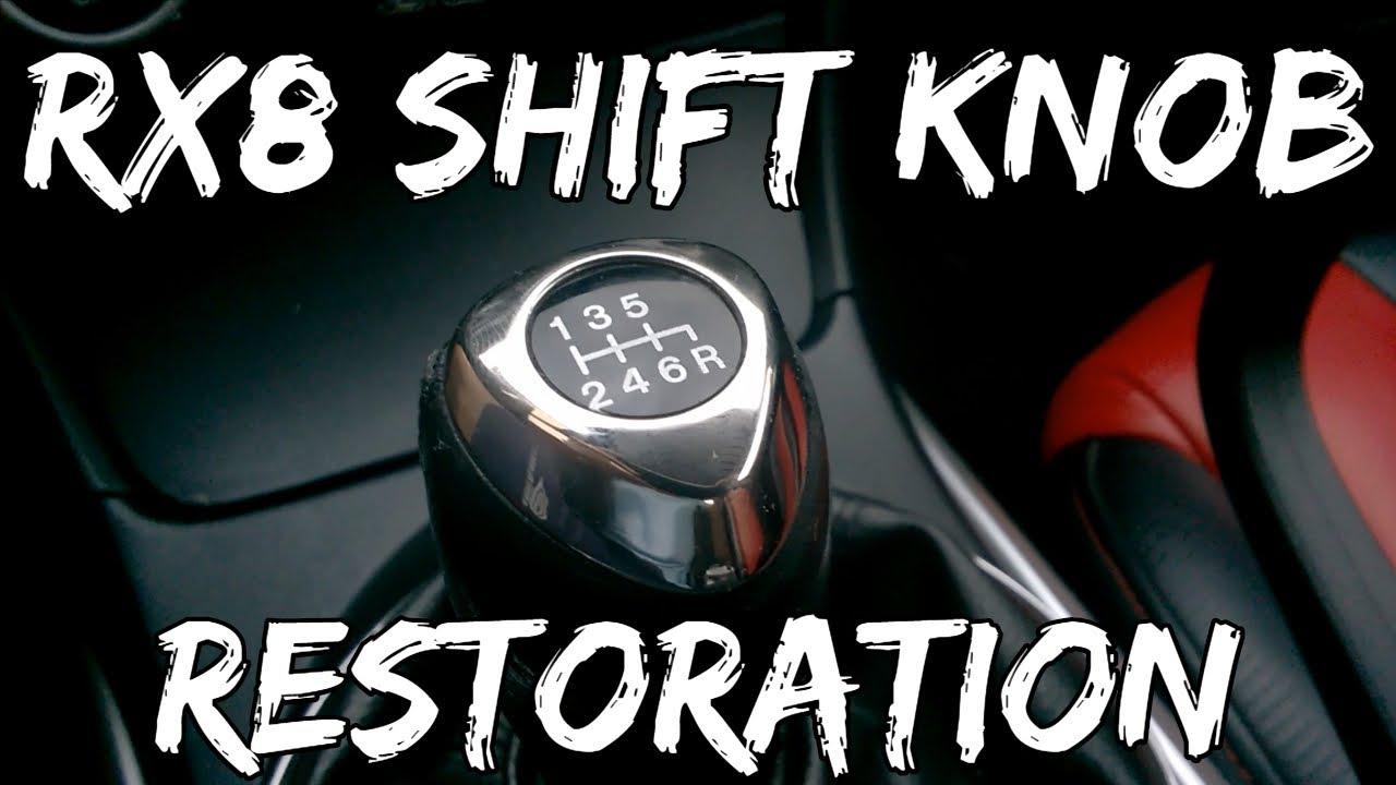 Mazda Rx8 Shift Knob Restoration