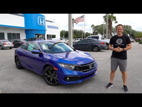 Is the 2019 Honda Civic Sport coupe a VALUE priced Civic Si?