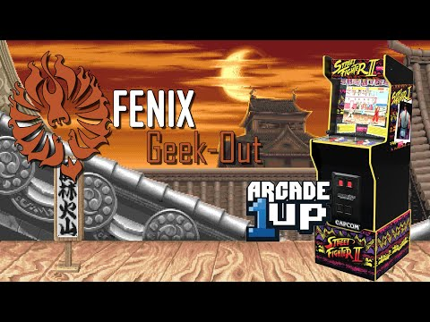 Fenix Geek-Out: Arcade1Up Capcom Legacy Edition Speed-Build & Test from Fenix Media: Pop Culture Entertainment