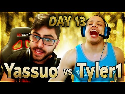 PewDiePie Calls T1 a Normie | YASSUO VS TYLER1 - $10K BET: DAY 13