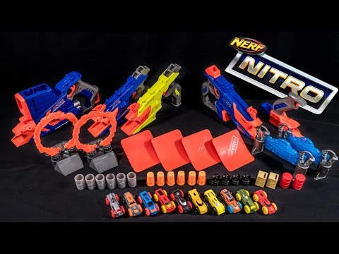 [REVIEW] Nerf Nitro Launchers | Bulk Review!
