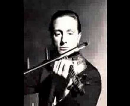 Franco Gulli plays Paganini-I Palpiti