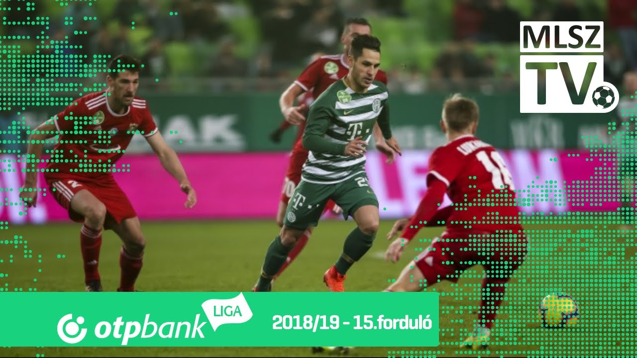 Ferencvárosi TC - Kisvárda Master Good | 2-0 (2-0) | OTP Bank Liga | 15. forduló | 2018/2019