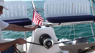 Antares Powered Dinghy Davit Arch