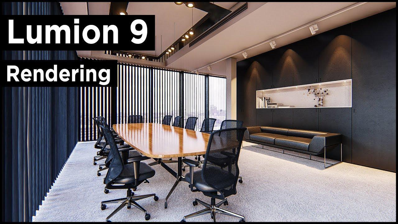 Lumion 9 Pro Interior Rendering Tutorial (Photorealistic)