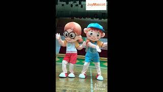 Boy & Girl Cartoon Mascot Costumes for Adult