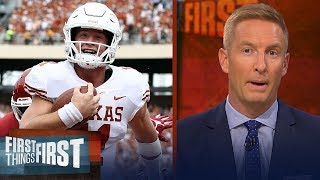 Joel Klatt discusses if Texas is back after big statement win over OU | CFB | FIRST THINGS FIRST