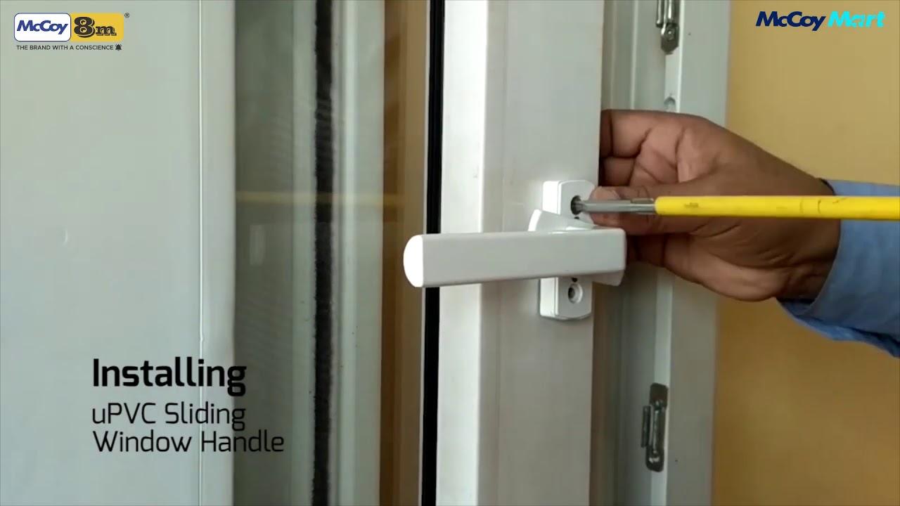 Replacing L type handle on sliding windows