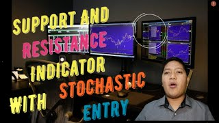 Powerful Support And Resistance  Ndicator With Stochastic Oscillator Entry - Free Download -English