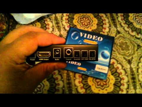 Scart-HDMI Video converter for RGB mod N64 Review