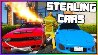 GTA 5 Roleplay - STEALING CARS WITH A FLAMETHROWER | RedlineRP