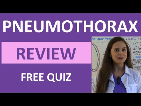 Pneumothorax Nursing, Pathophysiology,...