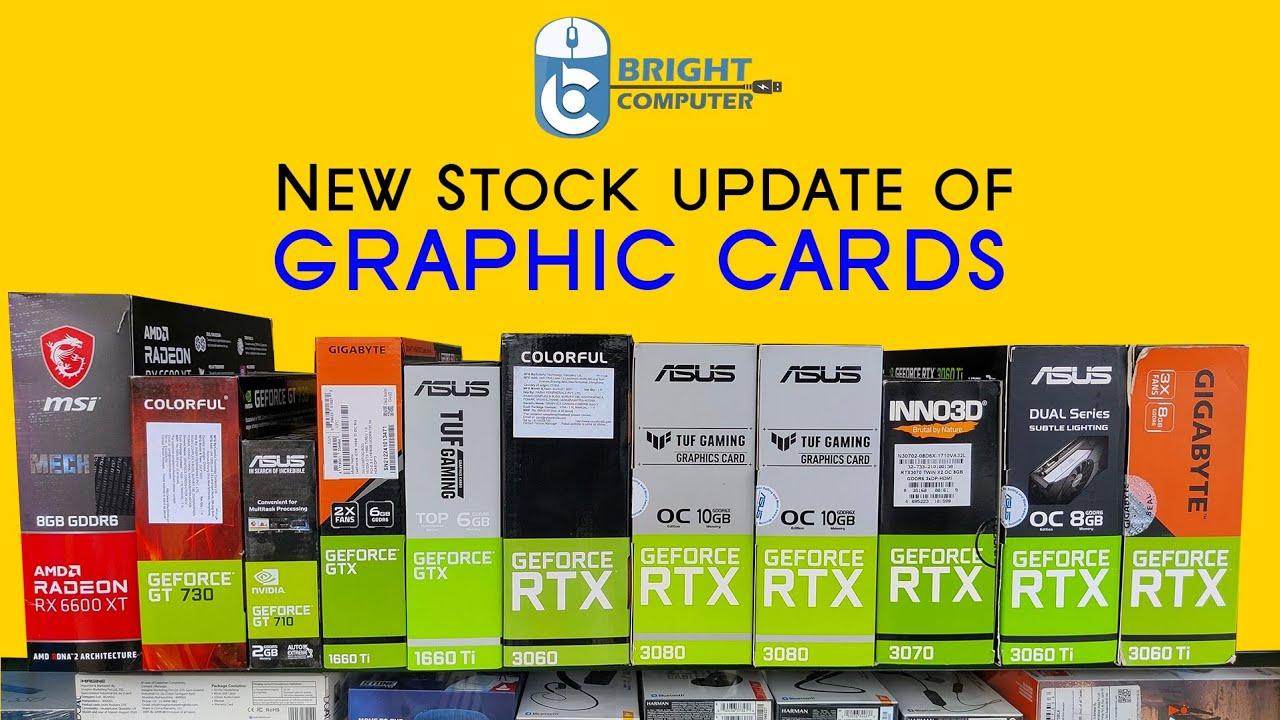 Download Stock Update: Graphic Cards   RTX 3080,RTX 3070,RTX 3060 ti,RTX 3060   Bright Computer