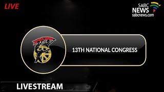 Cosatu's 13th National Congress, 18 September 2018 (Day2)
