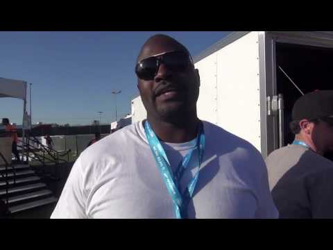 Marcellus Wiley Talks Track Speed Vs Football Speed
