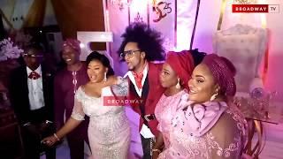 Denrele Edun Welcomes Ayo Adesanya To Her 50th Birthday Party