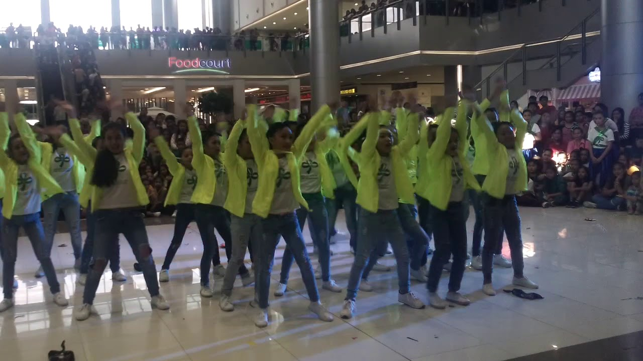 Malabanias Integrated School GSP Junior Modern Dance Remix Competitions  World Thinking Day 2018