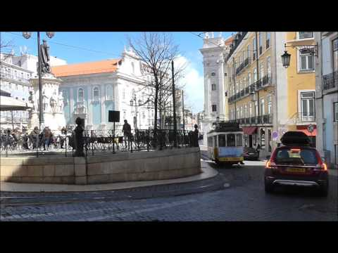 Lisbon tramparade - Lisboa eléctrico - Straßenbahn - Villamos - Tram