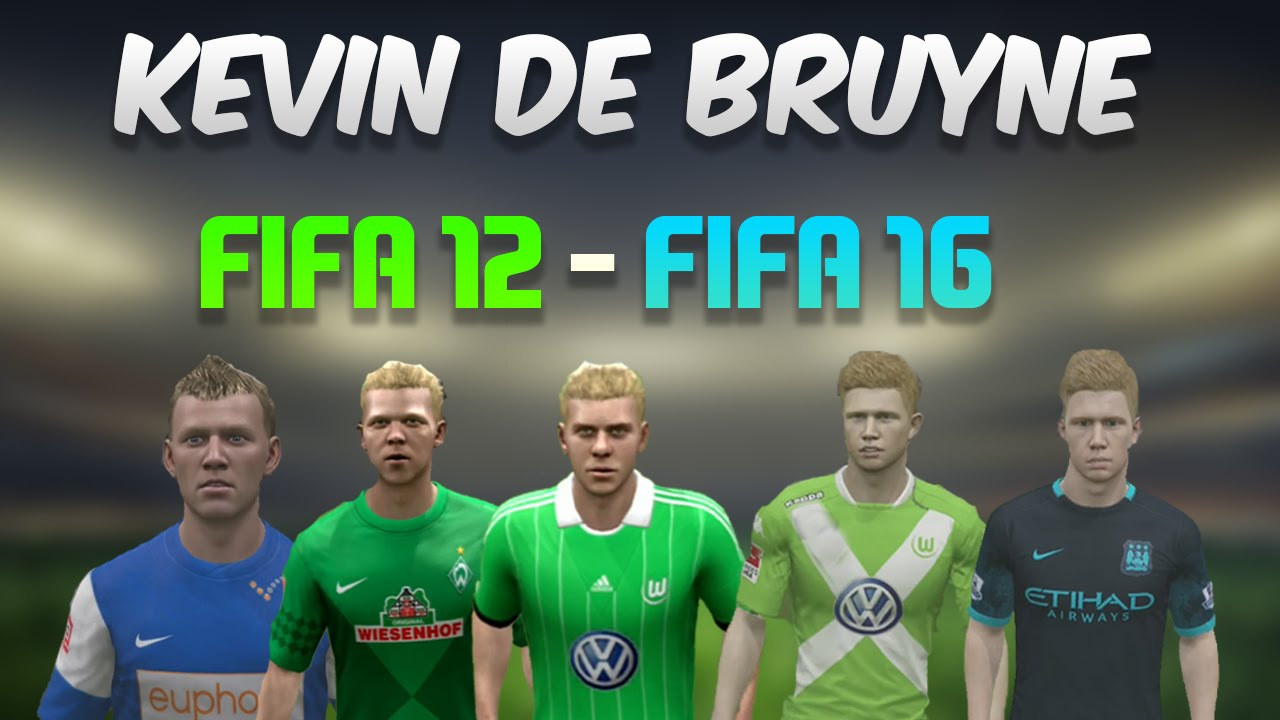de bruyne from fifa 12 fifa 16 gameplay goals stats. Black Bedroom Furniture Sets. Home Design Ideas