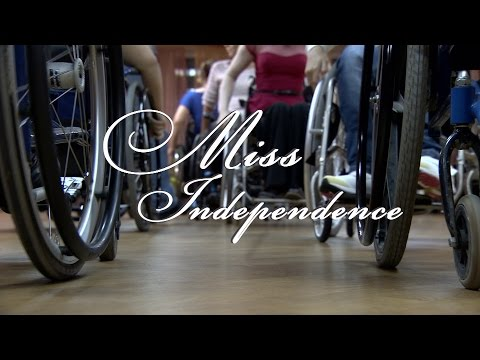 Miss Independence. The Annual Beauty Contest for Women Wheelchair-users