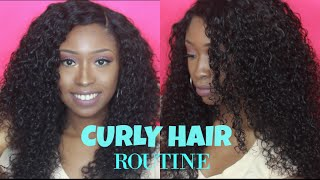 CURLY HAIR ROUTINE | HOW TO REFRESH CURLY HAIR! Amor Antasia Hair