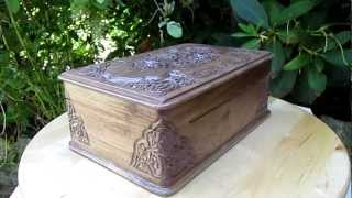 Handcrafted Jewellery Box From Heartwood Gifts