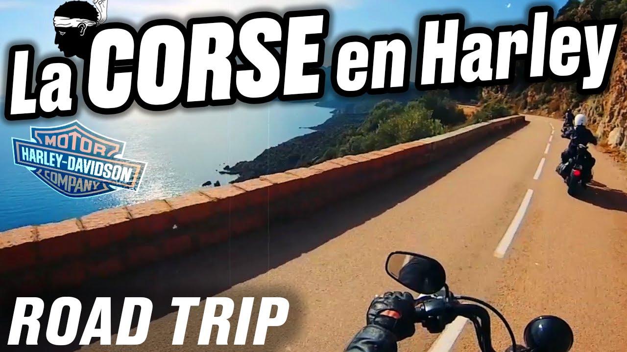road trip moto en corse avec des harley davidson youtube. Black Bedroom Furniture Sets. Home Design Ideas