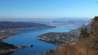 Col de la Forclaz, le lac d'Annecy