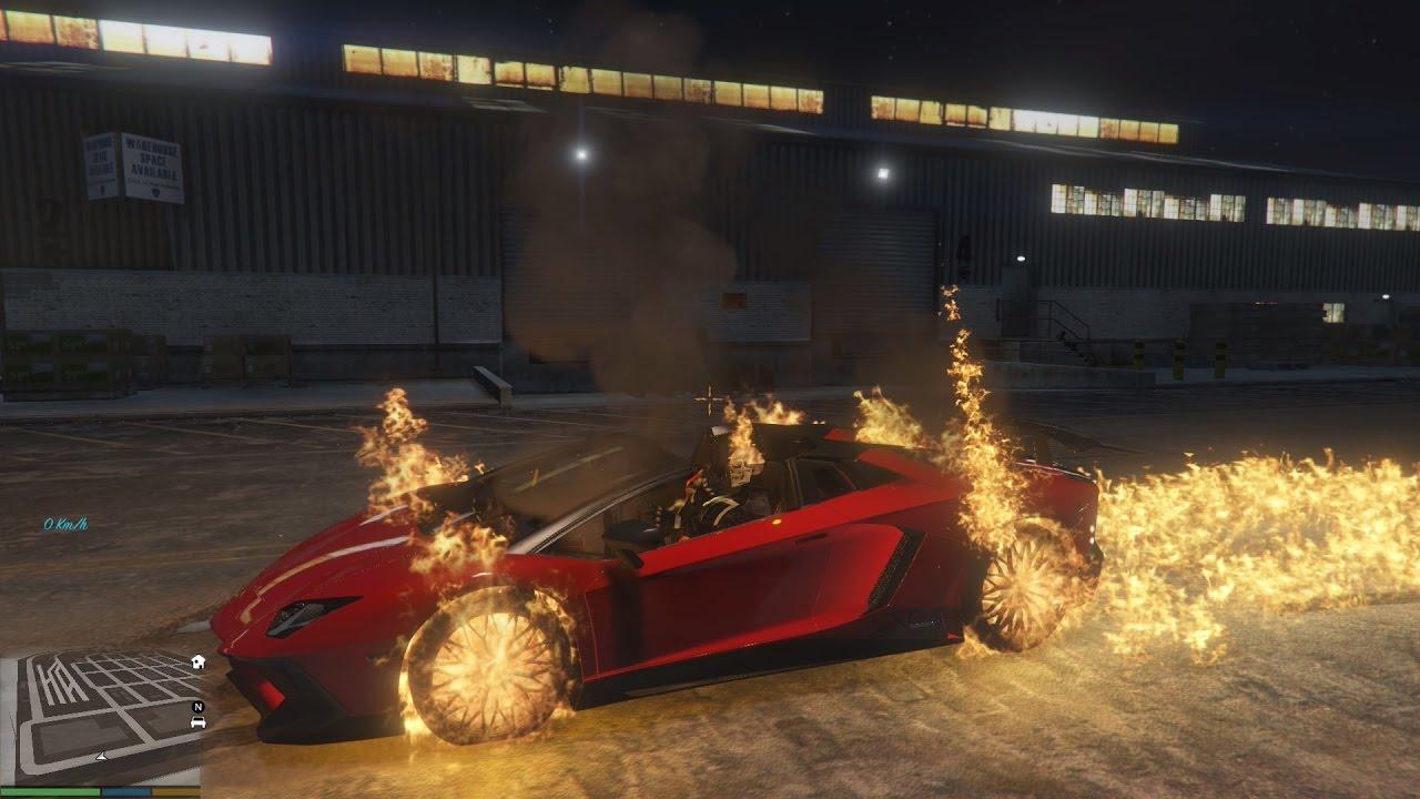 GTA 5 Mod Ghost Rider xuống nước? Bạn đã thử chưa?