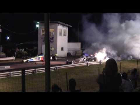 US 36 Raceway- Osborne MO., Jet Cars, 8-31-2013