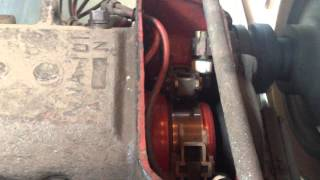 Rare Footage, 600V DC Traction motor brushes