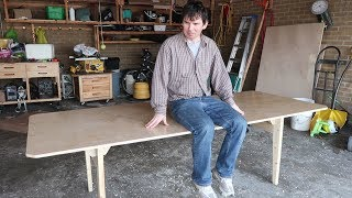 Large knock-down table build