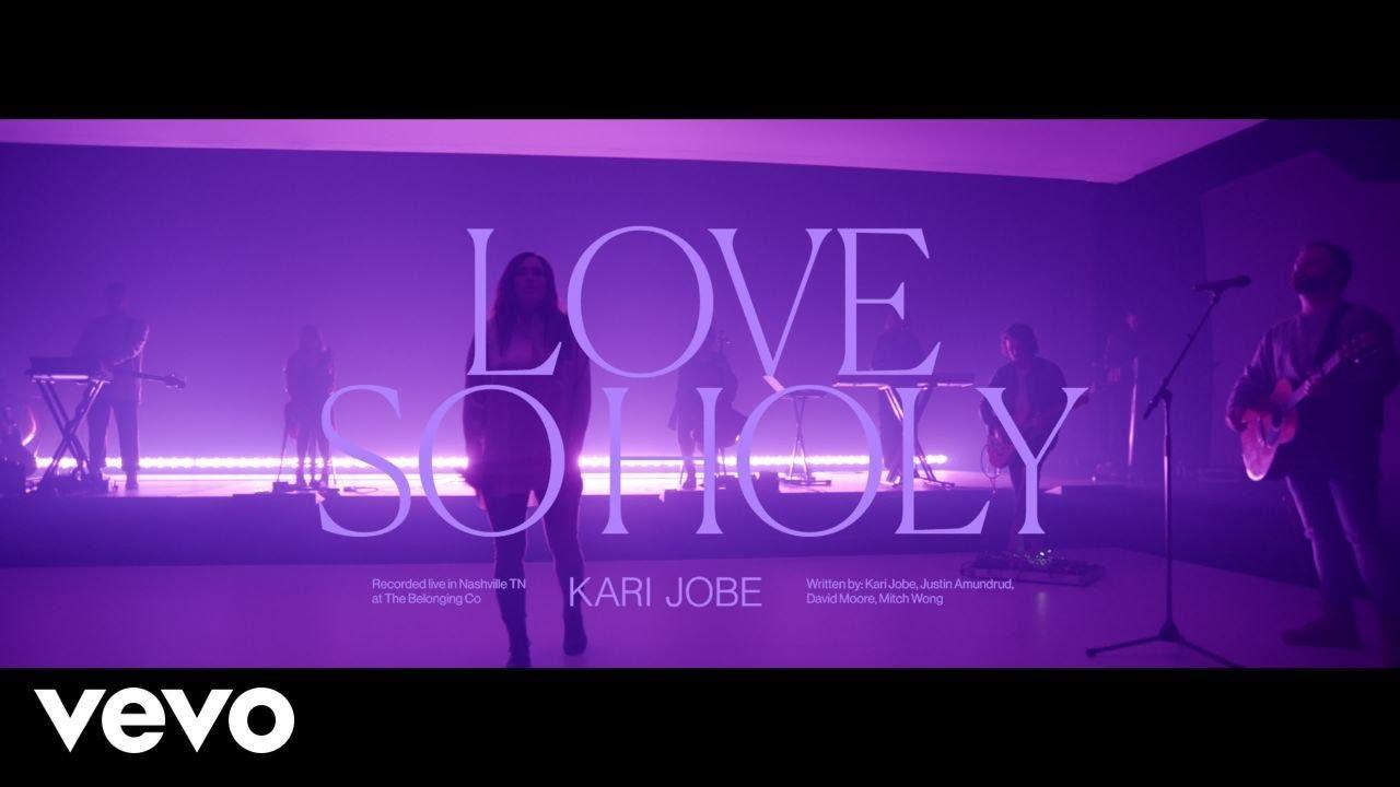 Kari Jobe Love So Holy Live At The Belonging Co Nashville Tn 2020 Youtube