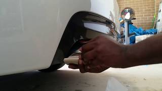 How to Remove and Replace Exhaust Muffler tip in a few seconds